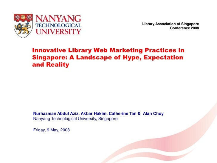 Library Association of Singapore                                                                              Conference 2...