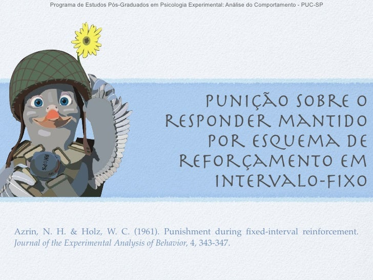 Programa de Estudos Pós-Graduados em Psicologia Experimental: Análise do Comportamento - PUC-SP                           ...