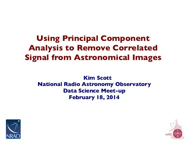 Using Principal Component Analysis to Remove Correlated Signal from Astronomical Images