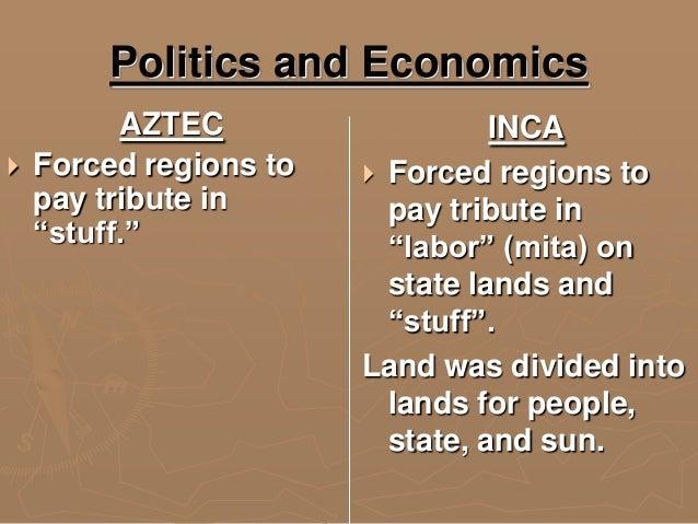 comparisons of inca and aztecs