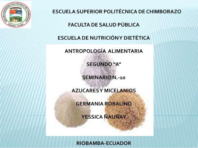 Azucar y micelanios