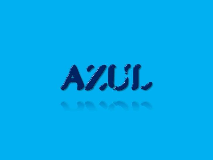 color azul (blue)