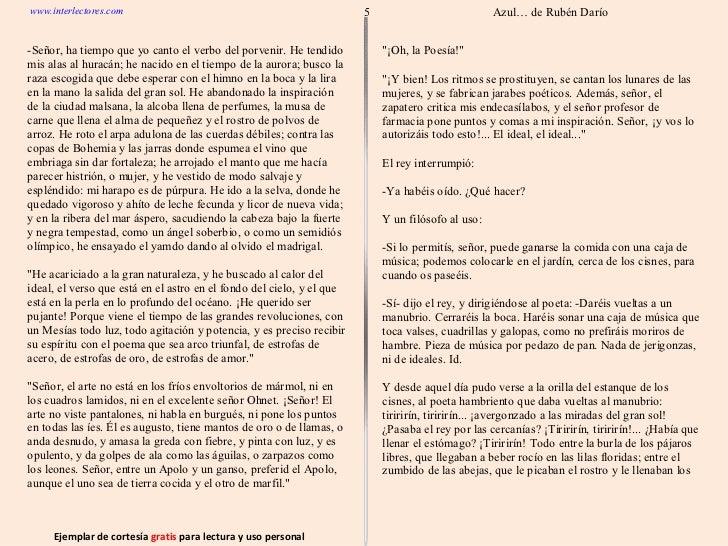libro azul de ruben dario pdf