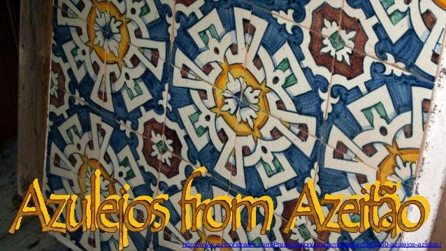 Azulejos from Azeitão