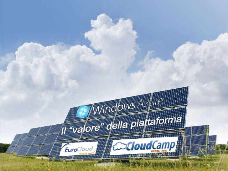 Le caratteristiche di AzureRisorse disponibili   ISO 27001       6 Data Center in 3«quando» servono      SAS70 Type II   c...