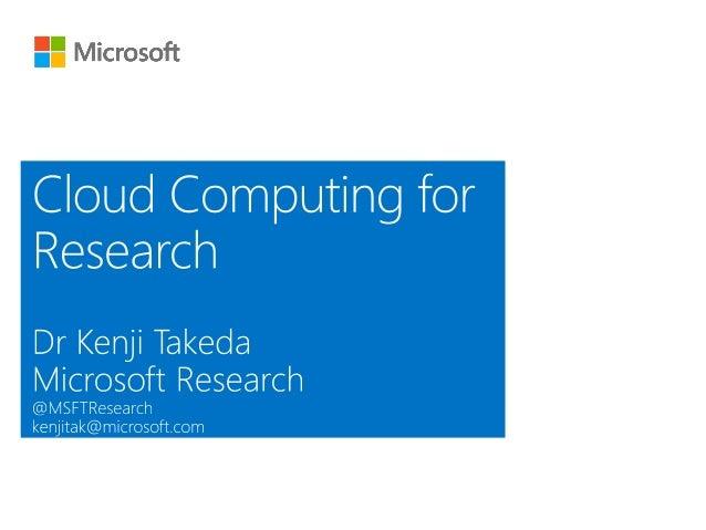 Azure for Education Ktadeka UCL Cloud Event 2013