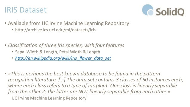uc irvine machine learning datasets