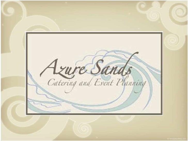 Azure sands