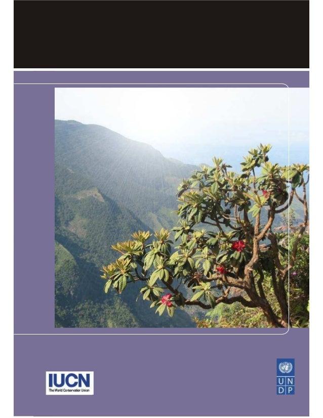Biodiversity and the MillenniumDevelopment Goals      Balakrishna Pisupati      Emilie Warner      IUCN Regional Biodivers...