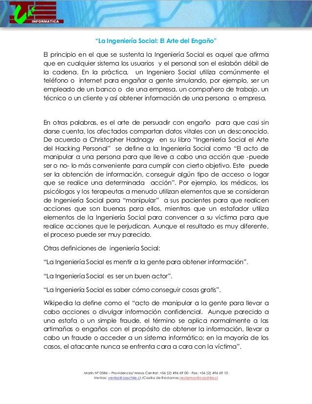 Marín N° 0586 – Providencia/ Mesa Central: +56 (2) 496 69 00 - Fax: +56 (2) 496 69 10 Ventas: ventas@caschile.cl /Casilla ...