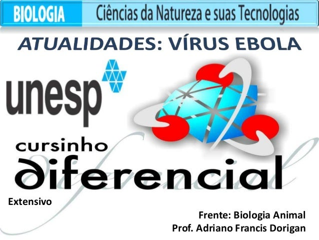 Extensivo  Frente: Biologia Animal  Prof. Adriano Francis Dorigan