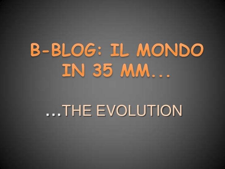 B blog presentazione Diana