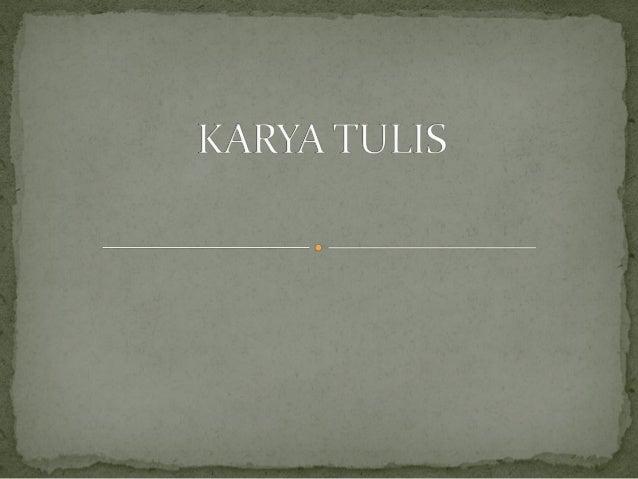 B. Indonesia - KD 4.3 Karya Tulis Dengan Daftar Pustaka & Catatan Kaki