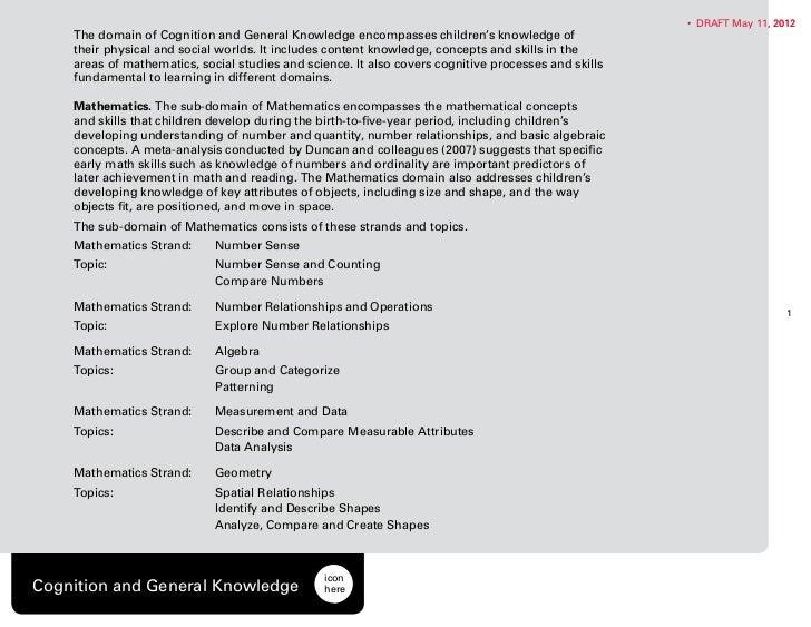B k standards-cognition_knowledge 5-11-2012 final