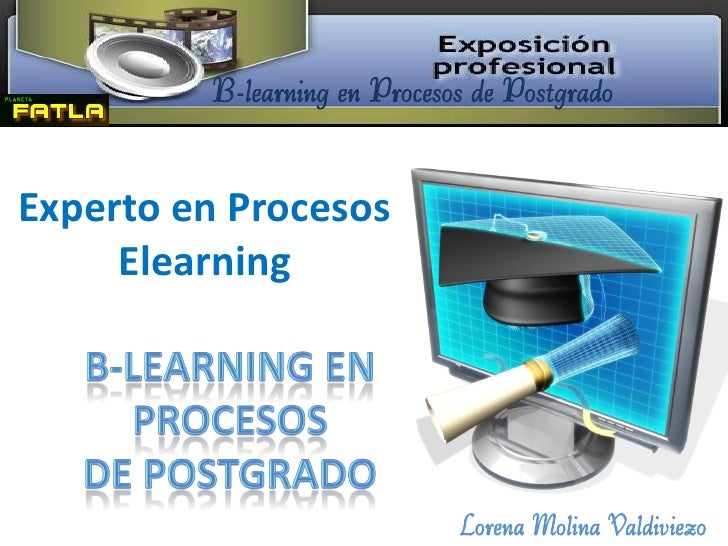 B learning en procesos de postgrado