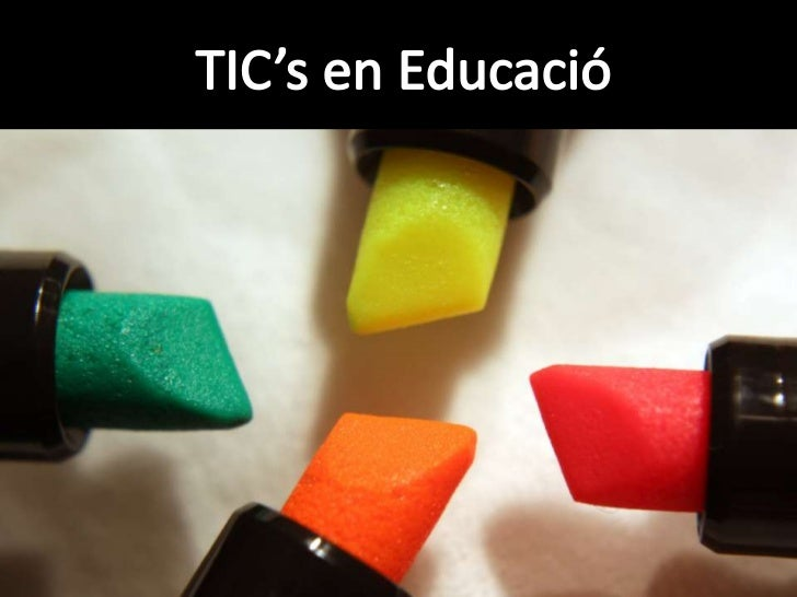 TIC's i Educació