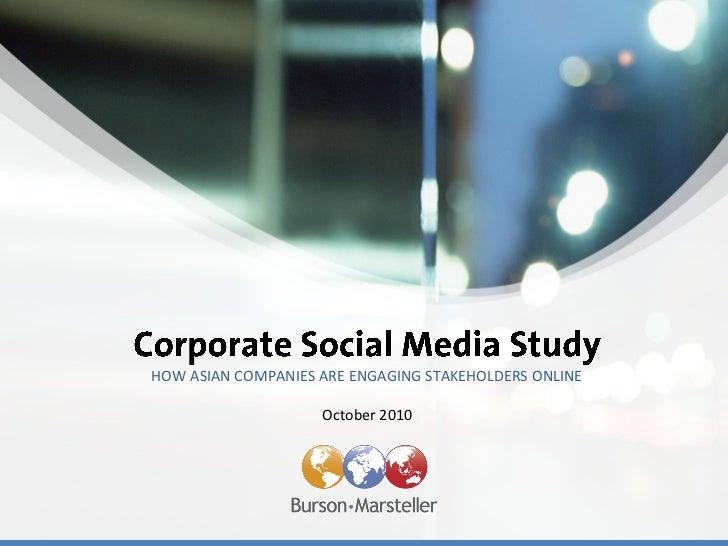 B-M A-P Social Media Study 2010