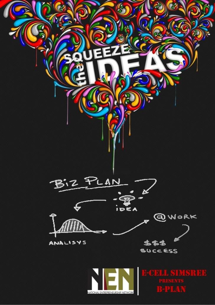 B plan Brochure