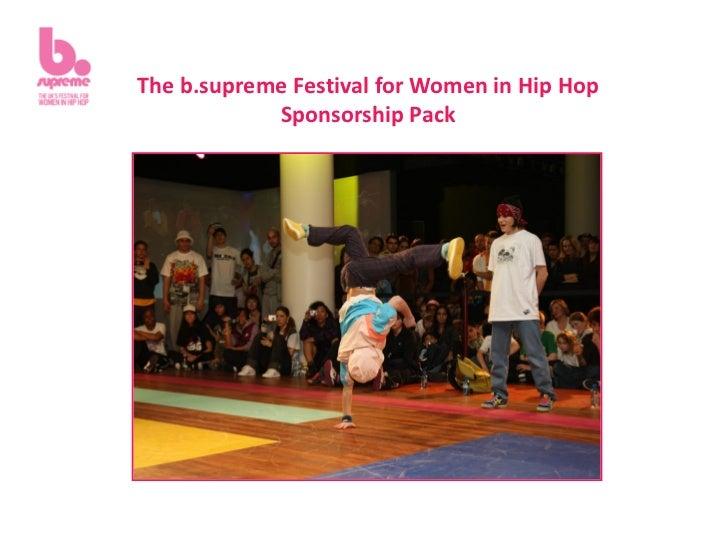 B.supreme sponsorship