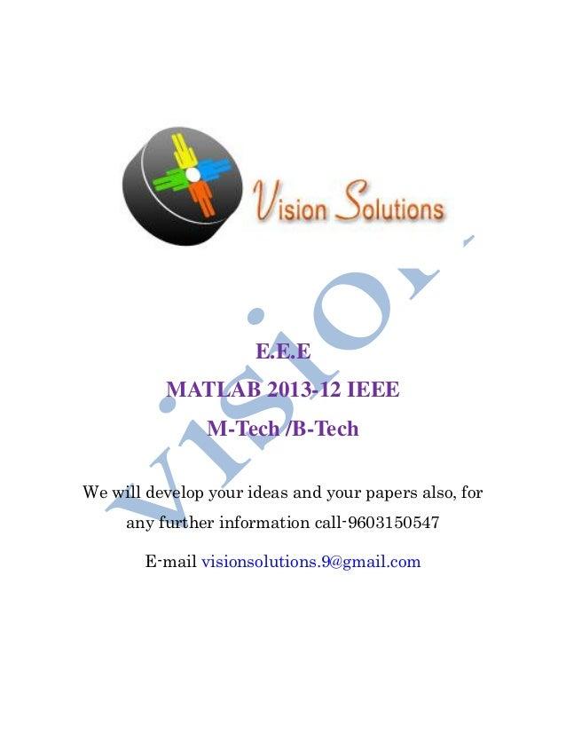IEEE  2013 12 eee B.tech & m.tech