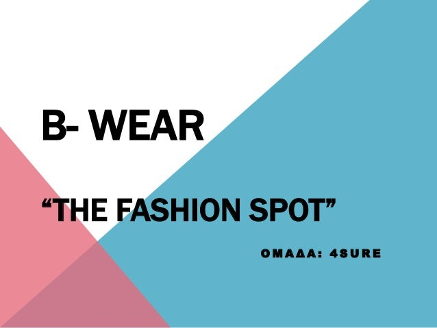 "Ο Μ Α Δ Α : 4 S U R EB- WEAR""THE FASHION SPOT"""