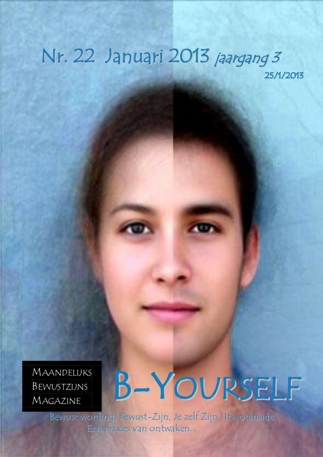 B yourself magazine nr.  22 januari  2013