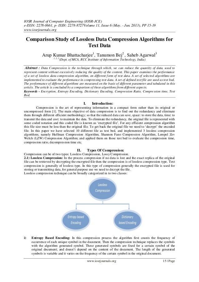 IOSR Journal of Computer Engineering (IOSR-JCE) e-ISSN: 2278-0661, p- ISSN: 2278-8727Volume 11, Issue 6 (May. - Jun. 2013)...