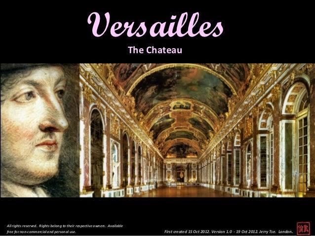 Versailles, Paris - Chateau