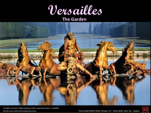 Versailles - The Garden, Paris