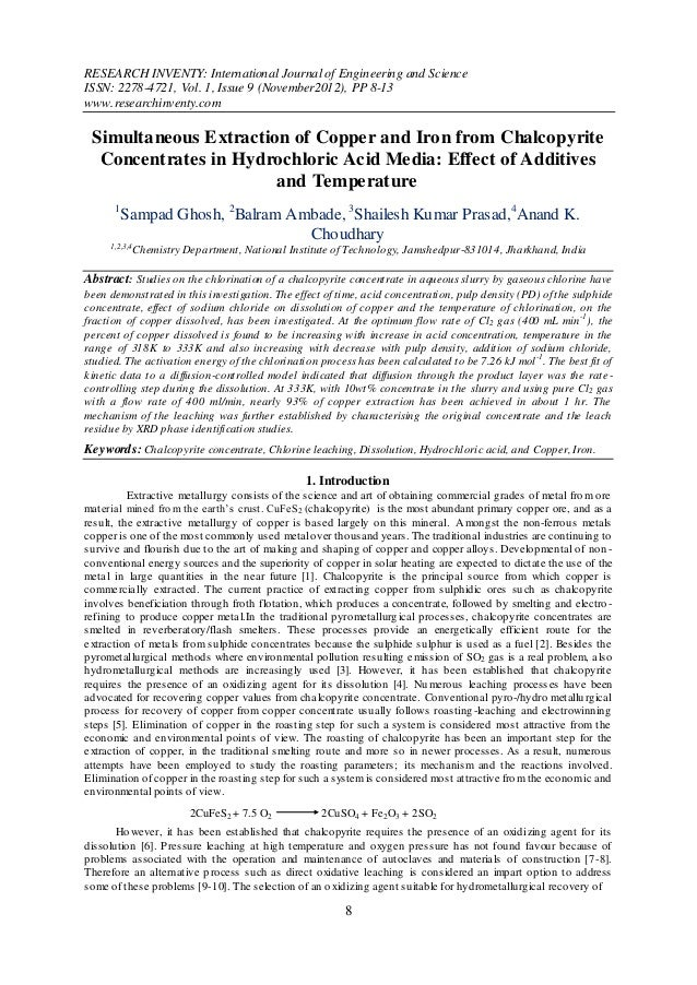 RESEARCH INVENTY: International Journal of Engineering and ScienceISSN: 2278-4721, Vol. 1, Issue 9 (November2012), PP 8-13...