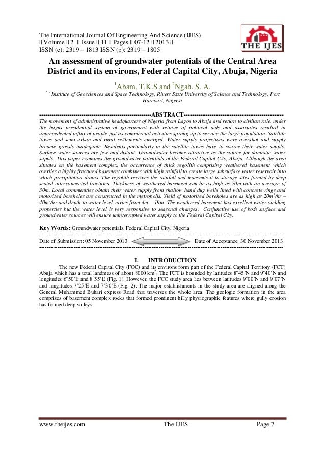 The International Journal Of Engineering And Science (IJES) || Volume || 2 || Issue || 11 || Pages || 07-12 || 2013 || ISS...