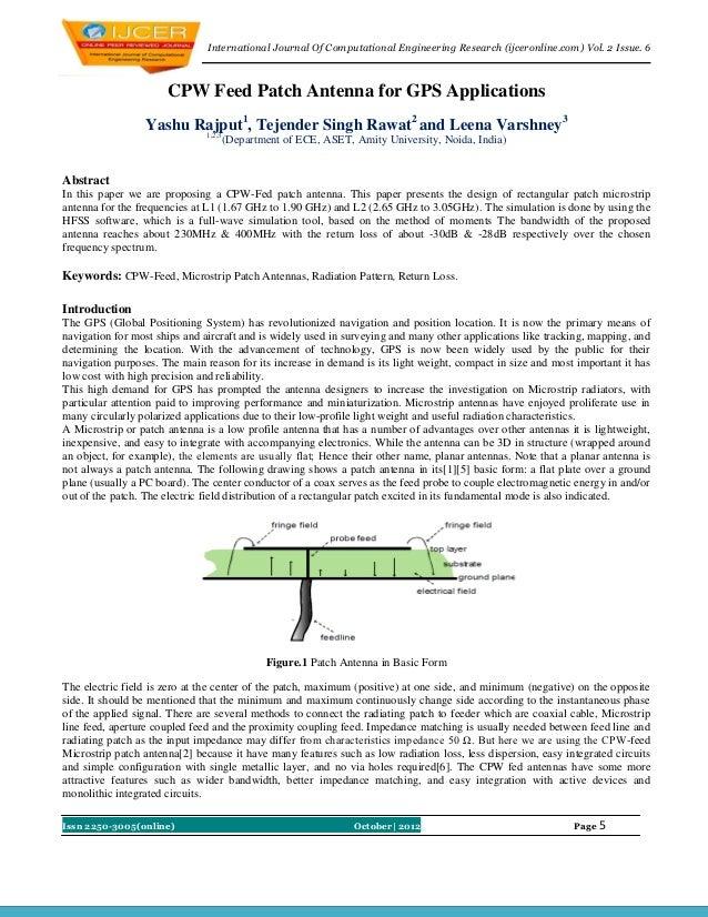 International Journal Of Computational Engineering Research (ijceronline.com) Vol. 2 Issue. 6                      CPW Fee...