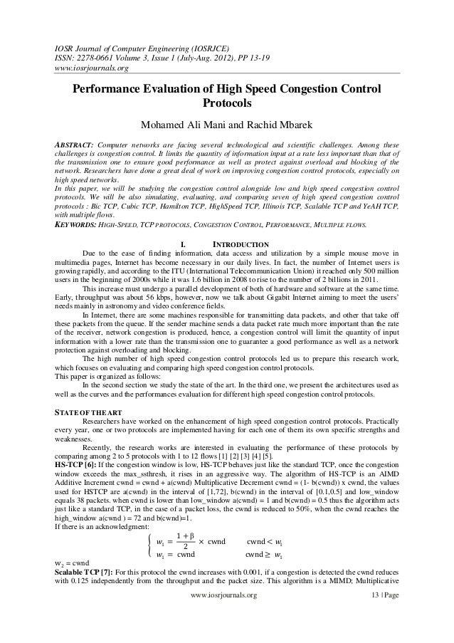 IOSR Journal of Computer Engineering (IOSRJCE) ISSN: 2278-0661 Volume 3, Issue 1 (July-Aug. 2012), PP 13-19 www.iosrjourna...