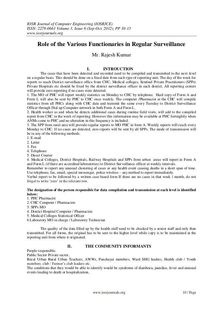 IOSR Journal of Computer Engineering (IOSRJCE)ISSN: 2278-0661 Volume 3, Issue 6 (Sep-Oct. 2012), PP 10-13www.iosrjournals....