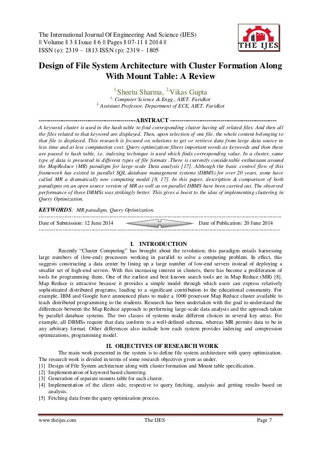 The International Journal Of Engineering And Science (IJES) || Volume || 3 || Issue || 6 || Pages || 07-11 || 2014 || ISSN...