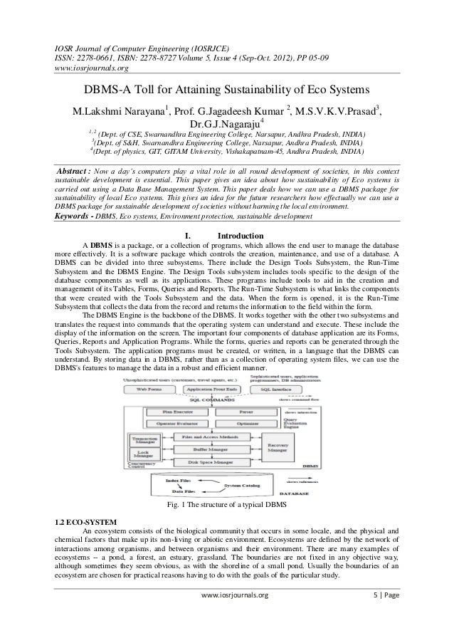 IOSR Journal of Computer Engineering (IOSRJCE) ISSN: 2278-0661, ISBN: 2278-8727 Volume 5, Issue 4 (Sep-Oct. 2012), PP 05-0...