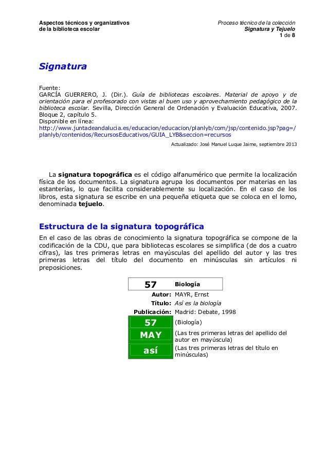 B054 signatura y_tejuelo