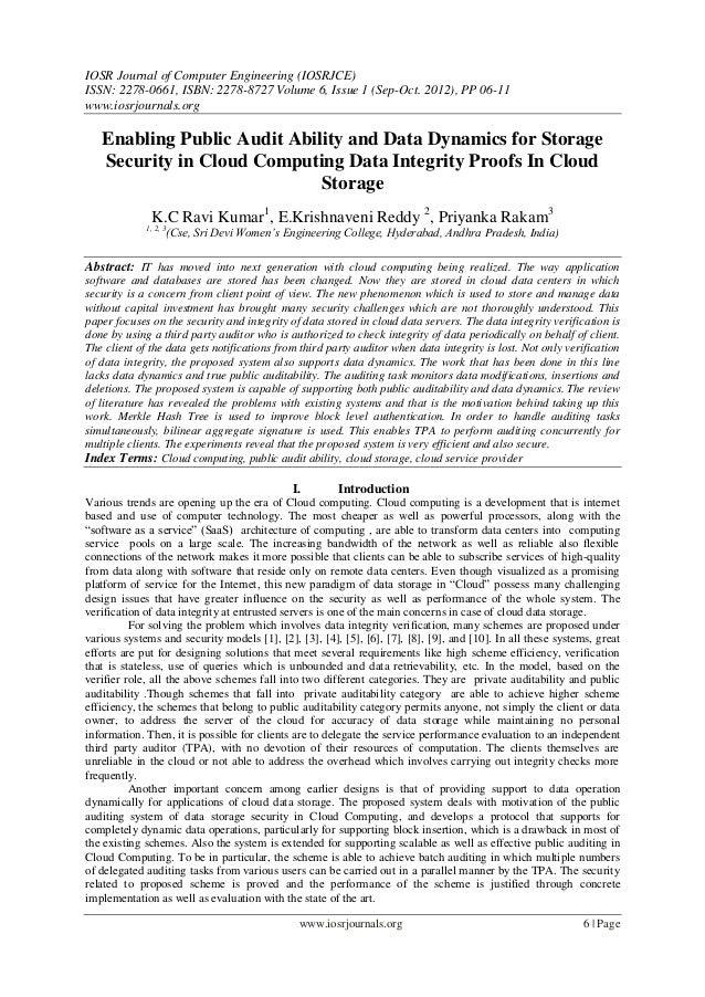 IOSR Journal of Computer Engineering (IOSRJCE) ISSN: 2278-0661, ISBN: 2278-8727 Volume 6, Issue 1 (Sep-Oct. 2012), PP 06-1...