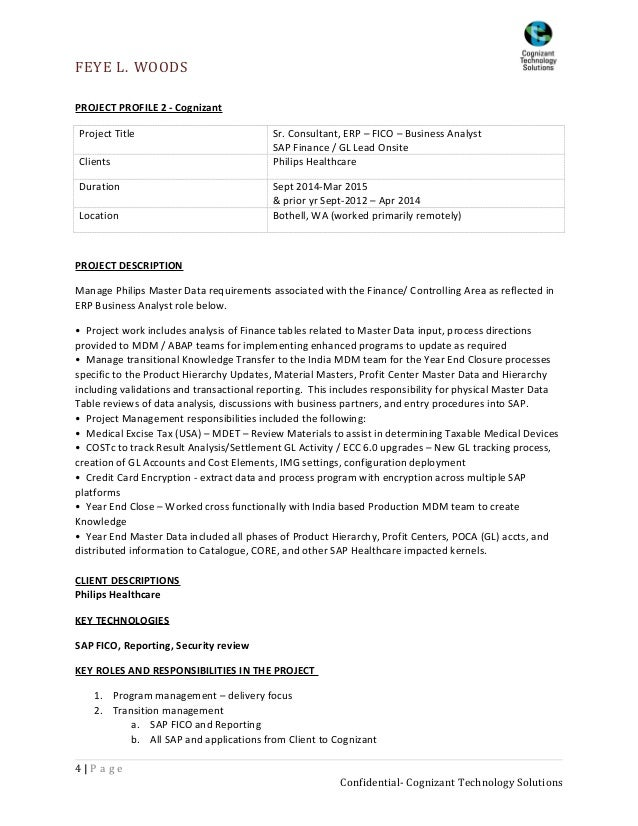 sap business analyst resume examples weaktumbling tk