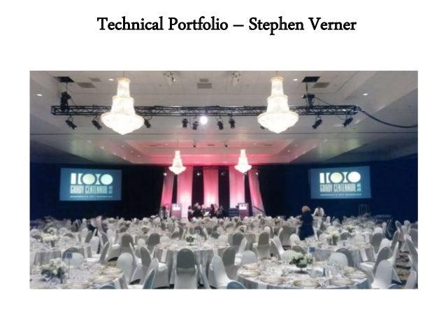 Technical Portfolio – Stephen Verner