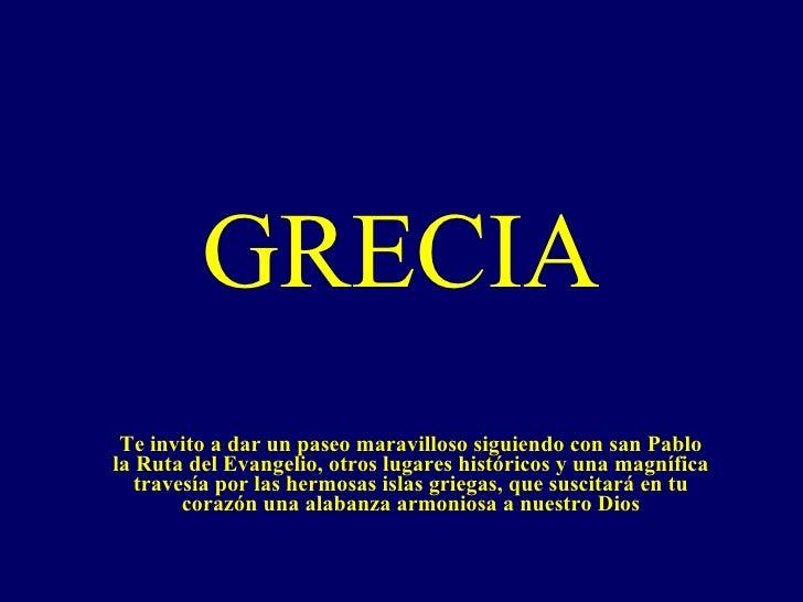 Grecia Y El Apostol San Pablo   Mirella Aycardi