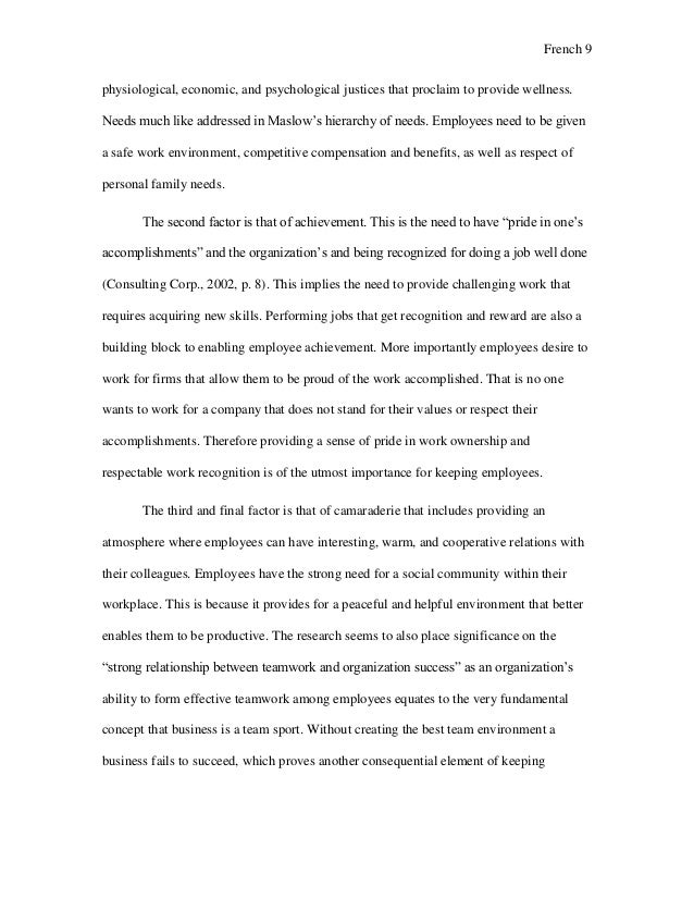 Essay Thesis On Motivation