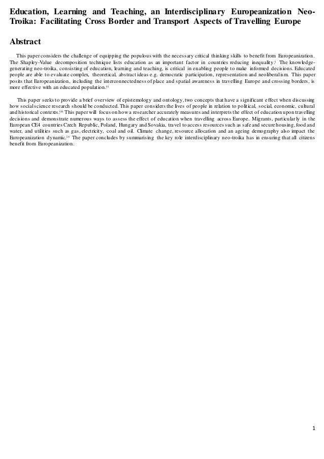 Graduate paper