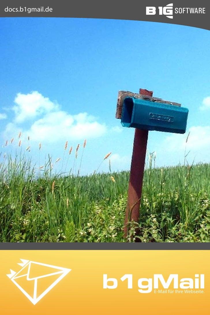 B1g Mail Installation