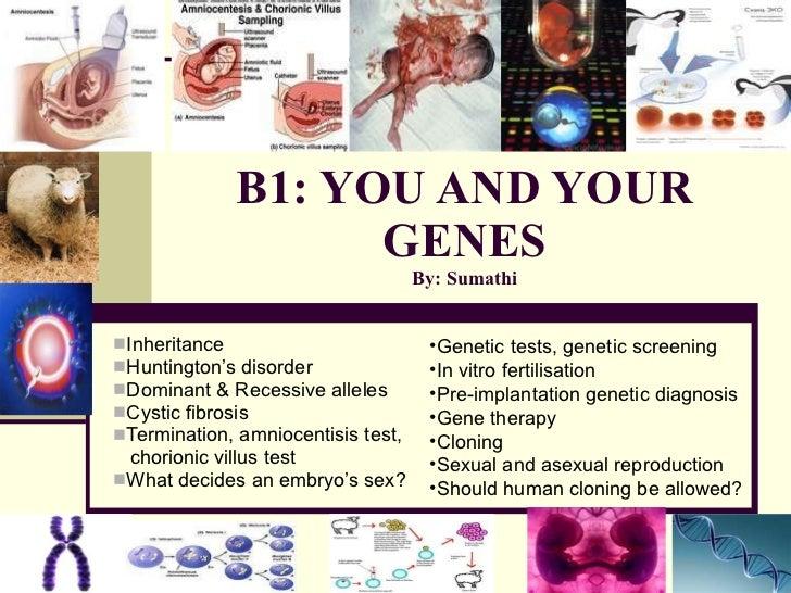 B1: YOU AND YOUR GENES By: Sumathi <ul><li>Inheritance </li></ul><ul><li>Huntington's disorder </li></ul><ul><li>Dominant ...