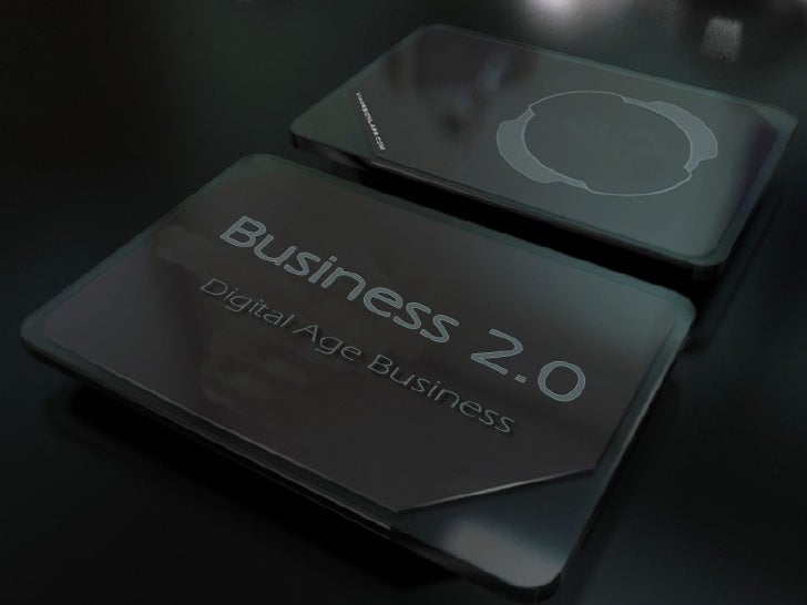 Business 2.0 - Digital Age
