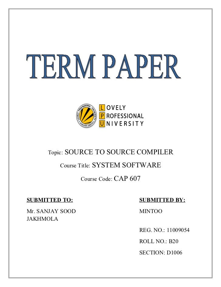 Source-to-Source Compiler