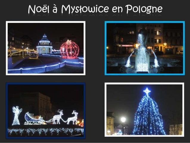 Noël à Mysłowice en Pologne