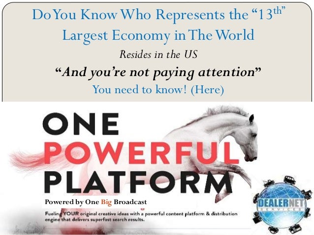 "DoYou KnowWho Represents the ""13th"" Largest Economy inTheWorld Resides in the US ""And you're not paying attention"" You nee..."