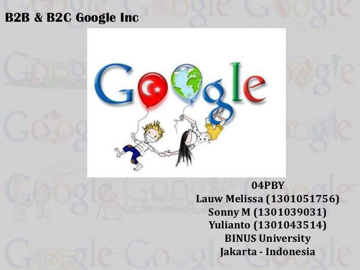 B2B and B2C Google Company